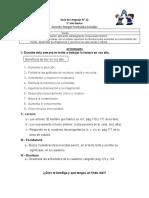Guía N° 22 -5° año Lenguaje