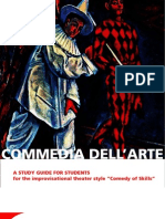 Commedia Dell'Arte AUG 7 SCREEN