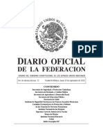 Diario Oficial de la Federación Mexicana 28092020-MAT