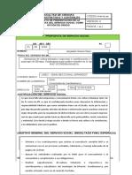 Formato de propuesta servicio social