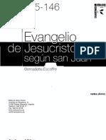 Evangelio de Jesucristo según san Juan - ESCAFFRE, Bernadette.pdf