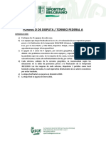 Formato de Disputa Sportivo Belgrano - Prensa