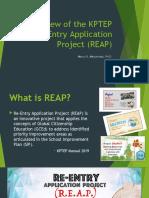 REAP KPTEP 2020
