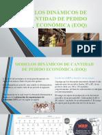 MODELOS DINÁMICOS DE CANTIDAD DE PEDIDO ECONÓMICA