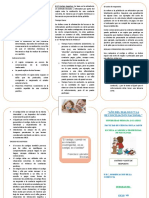 MODIFICACION DE CONDUCTA triptico-CASTIGO