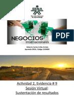 Presentacion de Evidencia 9 Sesion virtual de sustentacion de resultados - copia.pptx