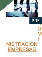Texto Autoinstructivo Administración Estratégica de Empresas - 2016