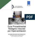 Guía Procedimental Nistagmo inducido por Hiperventilación