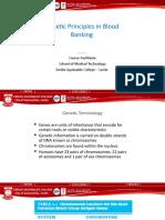 1.1 Genetic Principles in Blood Banking