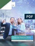 Siemens - Lista de Precios 2020.pdf
