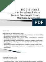 Slaid untuk unit 3