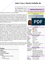 Catedral de la Santa Cruz y Santa Eulalia de Barcelona - Wikipedia, la enciclopedia libre