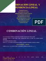 4.3 COMBINACION LINEAL