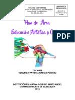 PLAN DE AREA ED ARTISTICA Y CULTURAL