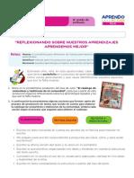 FICHA DE AUTOAPRENDIZAJE COMUNICACIÓN -SESION EVALUACIÓN SEXTO GRADO.pdf