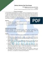 Guia Didactica Informe Final Tipo Ensayo U5