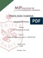 Foro 2 - Fisiología