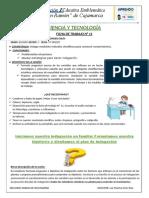 CIENCIA Y TECOLOGIA ACTIVIDAD SEMANA 11