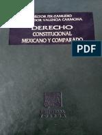 Derecho constitucional mexicano y comparado