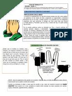 FICHA 4 LA ORACION - PADRE NUESTRO (1)