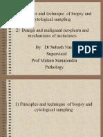 BIOPSY , CYTOLOGY & TUMOUR METASTASIS 2