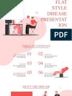 Flat Style Disease Presentation by Slidesgo