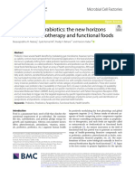 Postbiotics-parabiotics the new horizons in microbial biotherapy and functional foods
