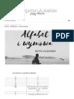 Przy kawie - przyjemna nauka bułgarskiego i albańskiego_ ALB_ Alfabet i wymowa