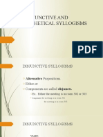 DISJUNCTIVE AND HYPOTHETICAL SYLLOGISM.pptx