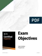 Exam Objective