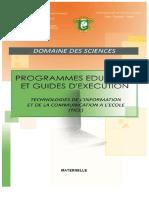 Programme TICE-MATERNELLE-Novembre 2014