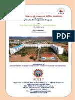 BROCHURE-AICTE ATAL FDP