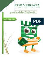 Guida dello studente Università Tor Vergata 2020-2021