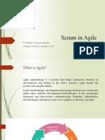 scrum in agile