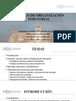 Modelo de Organización Industrial 2020
