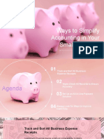 Ways to Simplify Accounting in Your Small Business