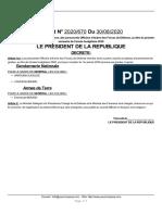 Decret - President - Decret Avancement 08 2020.pdf