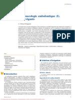 Pharmacologie endodontique (3)