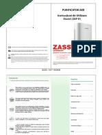 Manual ZAP purificator