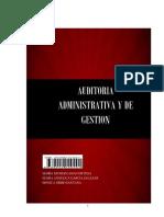 Auditoría administrativa y de gestión