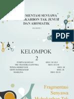 Mekanisme Pragmentasi Senyawa Hidrokarbon tak Jenuh dan Aromatik.pptx