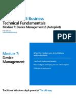 Module 7 - Device Management 2 (Autopilot).pdf