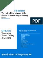 Module 8 - Meetings and Calling.pdf