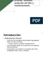 Estructura y Uniones en C