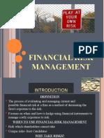 FINANCIAL RISK MGT 2003