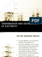 Transmission and Distribution of Electricity