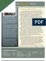 Ministry Newsletter 0111