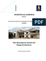 PMGRD Clemencia 2016