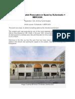 H. MODERN PUBLIC MARKET- Lugo's Public Market, Spain