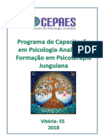 1Programa de Capacitação e Formação em Psicologia Analítica - 2019